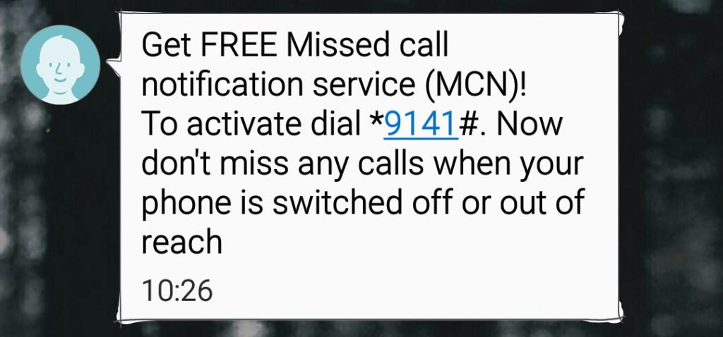 ncell missed call notification service mcn gadgetbyte nepal