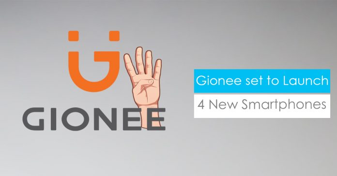 Gionee S11, F6, F205 & Steel 3 launching soon