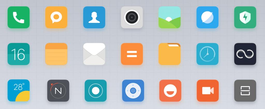 MIUI 9 Icons
