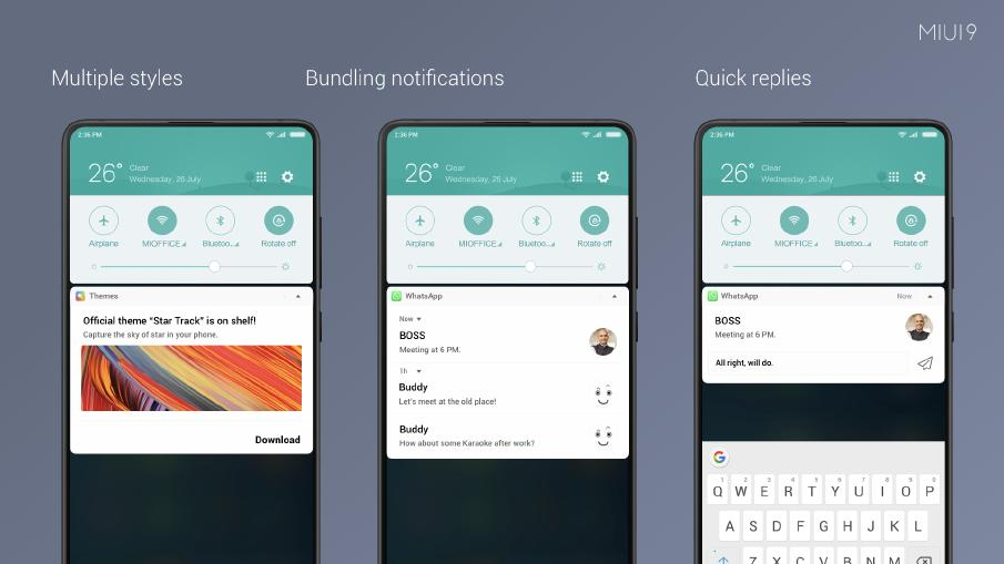 MIUI 9 Notifications