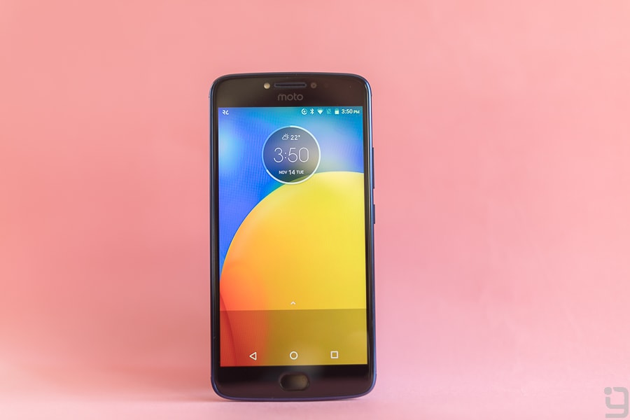 Moto E4 Plus Display