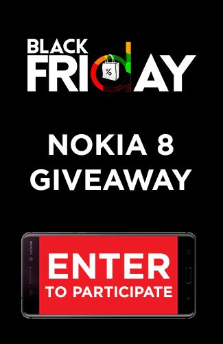 Nokia 8 Giveaway