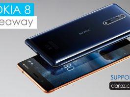 Nokia 8 grand giveaway - GadgetByte Nepal