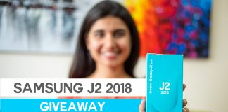 Samsung j2 2018 giveaway