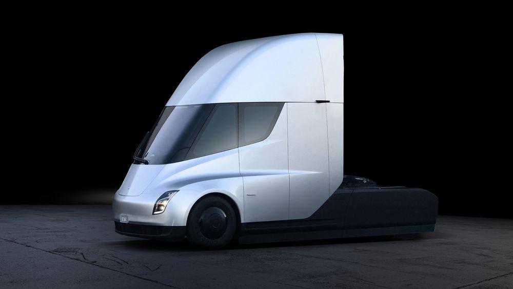 semi truck tesla gadgetbyte nepal