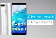 Gionee 2017 smartphones gadgetbyte nepal