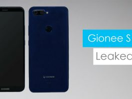 gionee s11 leaked in images