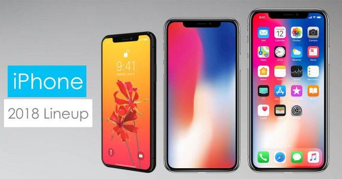 iPhone lineup 2018 gadgetbyte nepal three new iphones