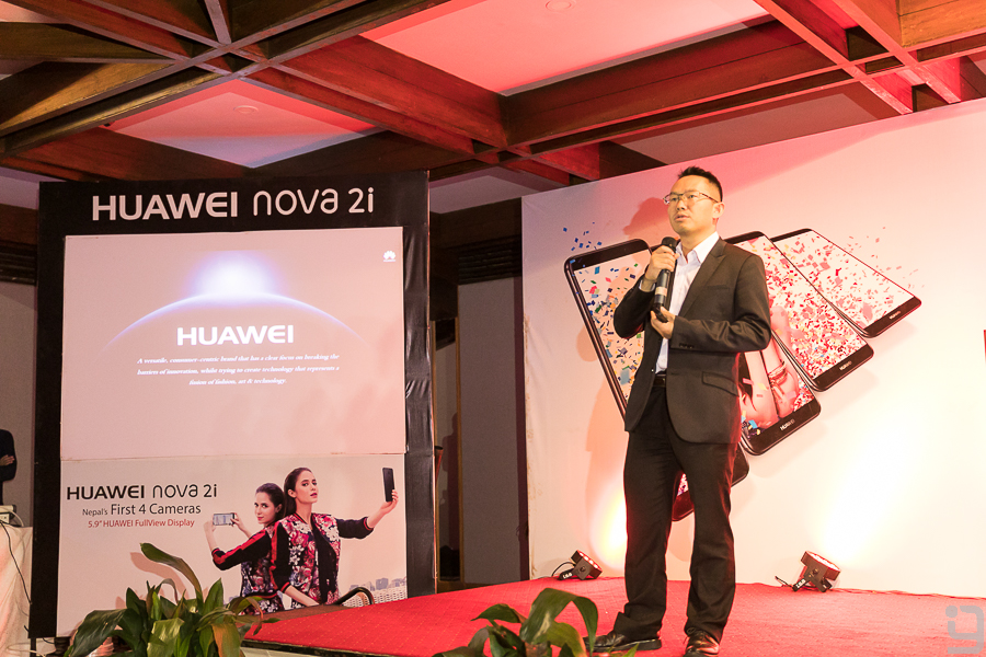 joyas huawei nepal during nova 2i launch
