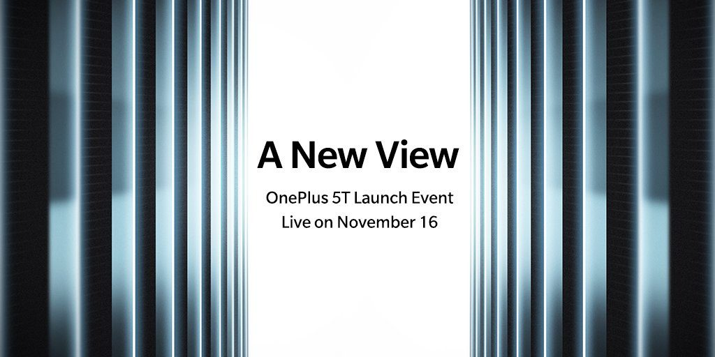 oneplus5t launch