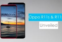 oppo r11s and oppo r11s plus unveiled