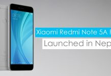 xiaomi redmi note 5a prime price in nepal