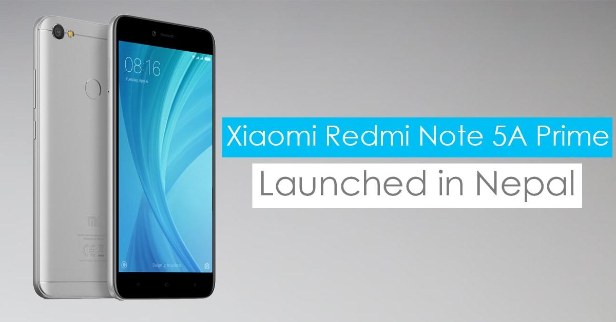 93cd0ab81f0 Xiaomi Redmi Note 5A Prime price in Nepal - GadgetByte Nepal