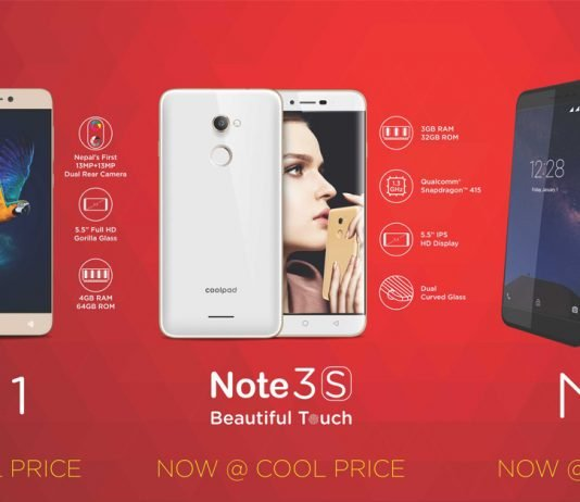 Coolpad cool1, coolpad note 3s, coolpad nx1 price drop