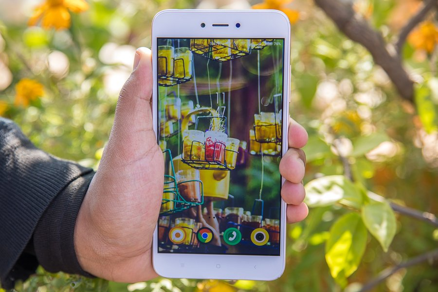 Xiaomi Redmi Note 5A display review