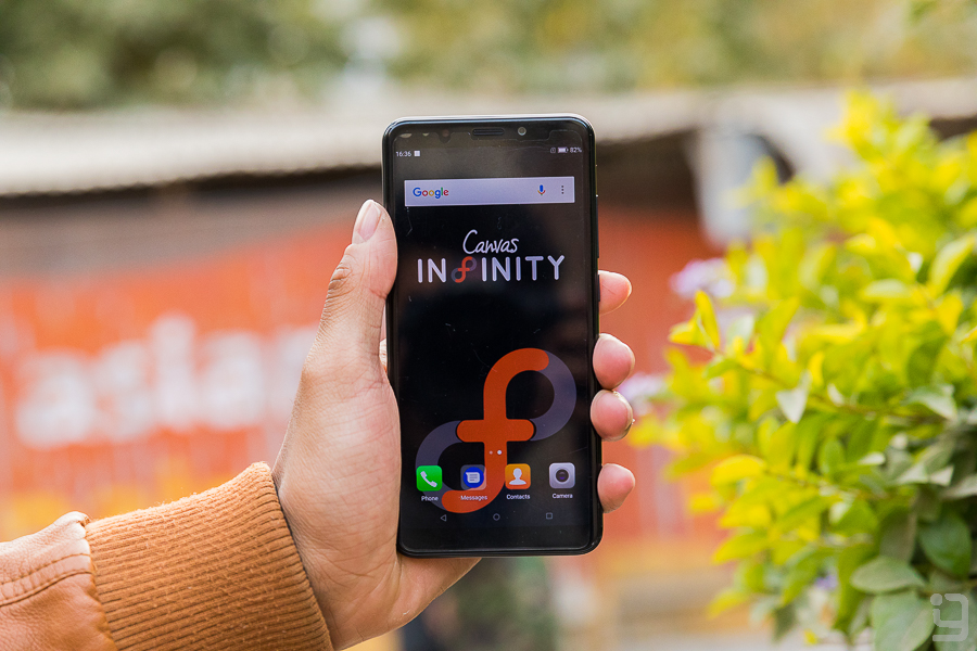 Micromax Canvas Infinity Gadgetbyte Nepal