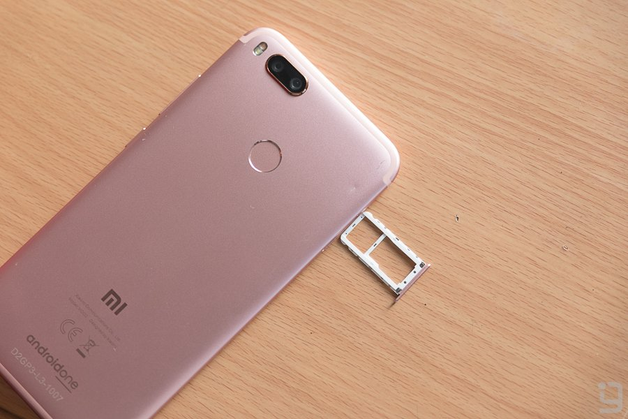 Mi A1 Connectivity