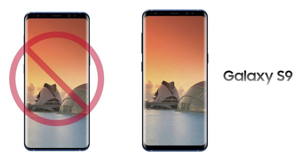 galaxy s9 failed design
