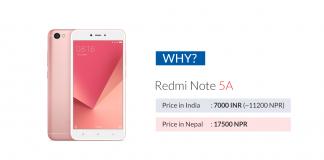 phones nepal price expensive india china