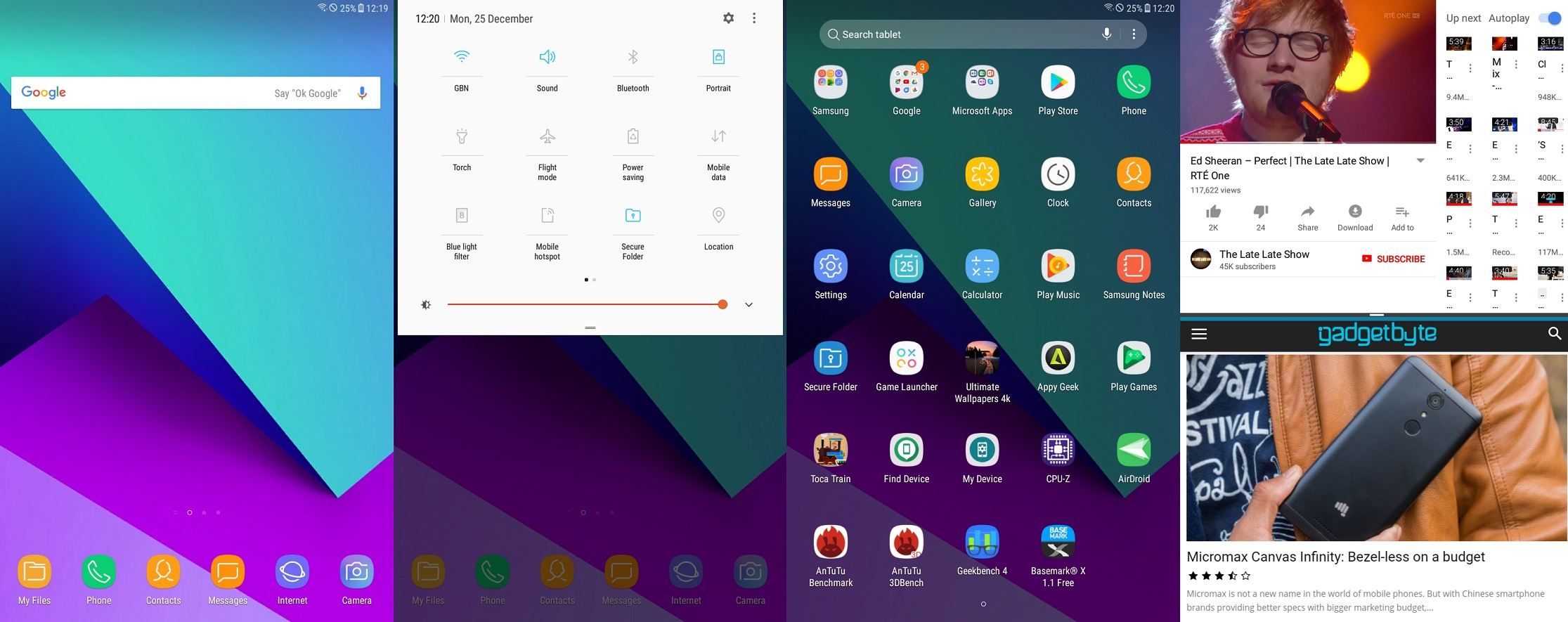 samsung tab a 2017 UI software review
