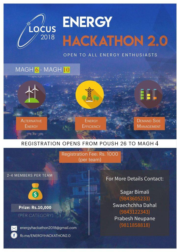 Locus 2018 energy hackathon 2.0