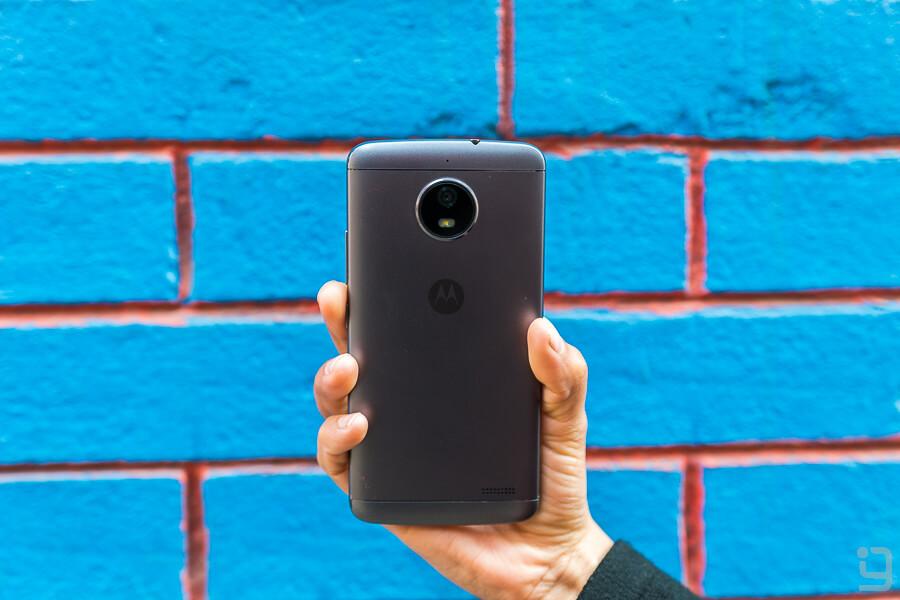 Moto E4 Camera