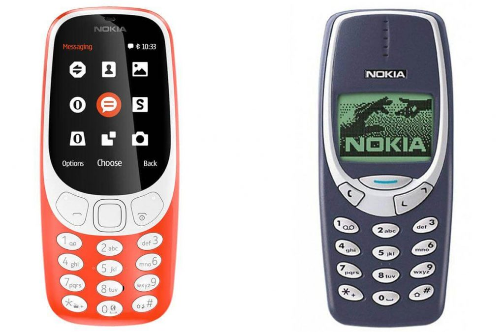 New Nokia 3310 4G vs Old Nokia 3310