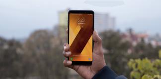 Samsung galaxy A8 Plus 2018 display Nepal