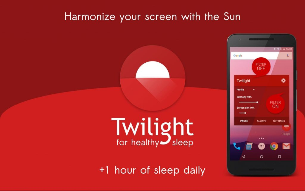 Twilight app review - Best health and fitness app