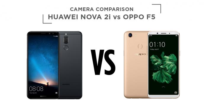 Huawei nova 2i vs oppo f5 camera comparison