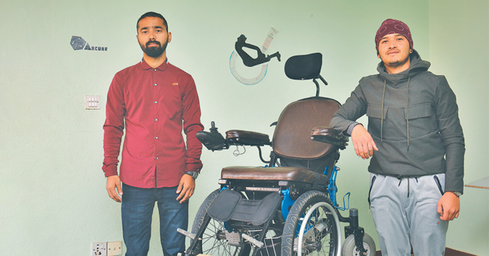 electric wheelchair nepal