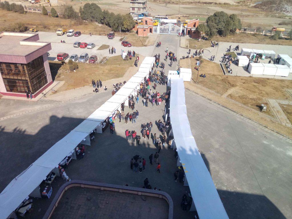 project demonstration IT meet 2018