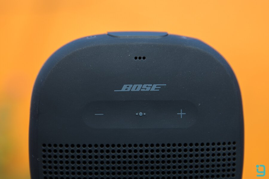 Bose soundlink micro volume buttons