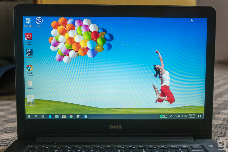 Dell Vostro 5468 review display