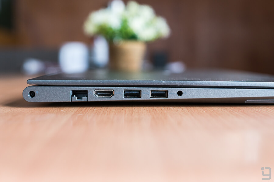Dell Vostro 5468 review left side ports