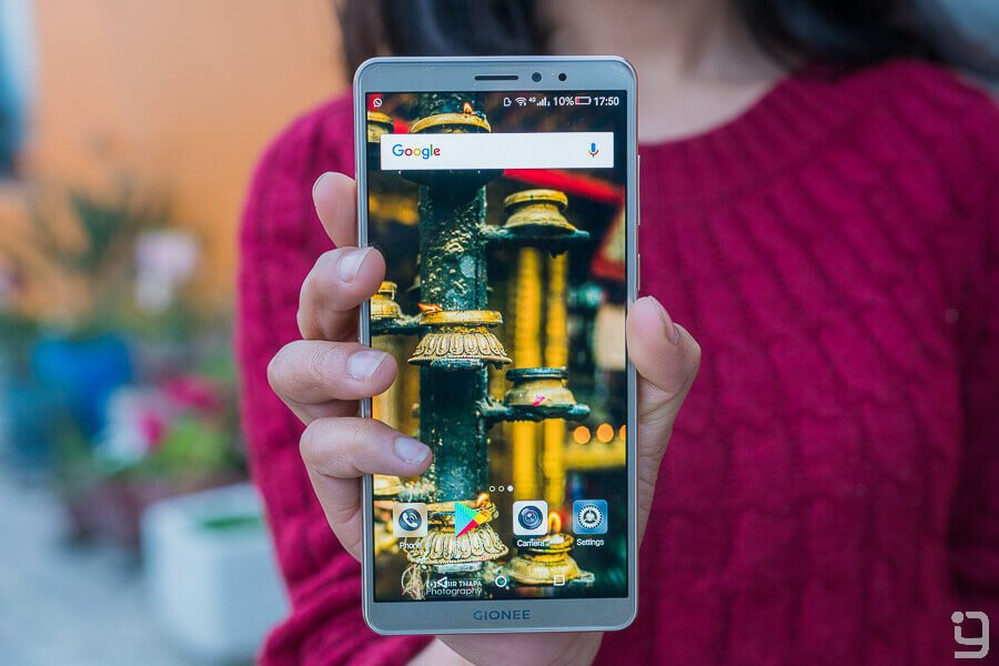Gionee M7 Power review display