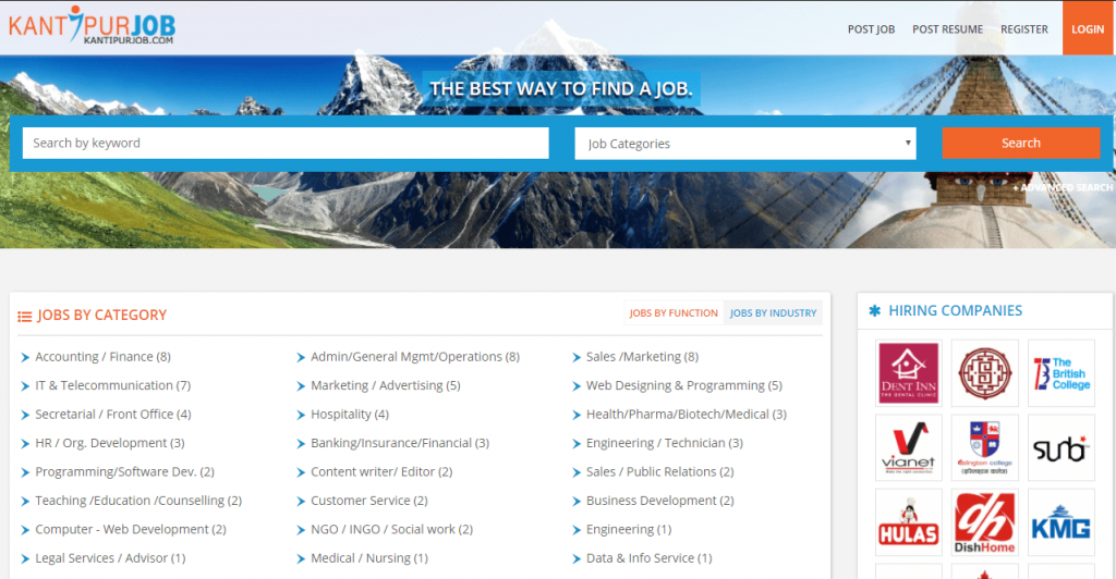 find Job vacancies in nepal