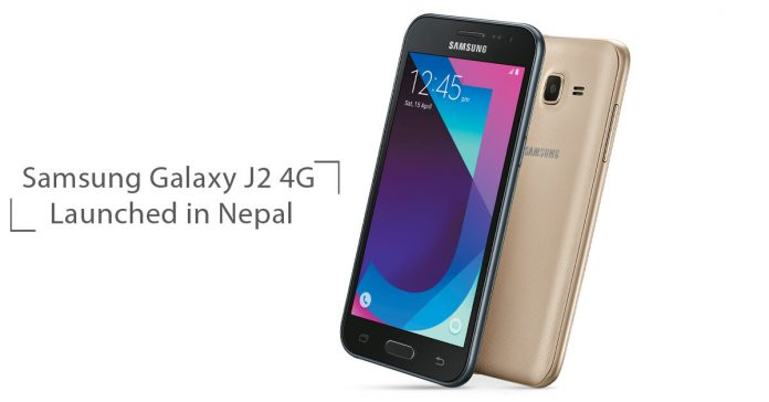 Samsung Galaxy J2 4G price in Nepal