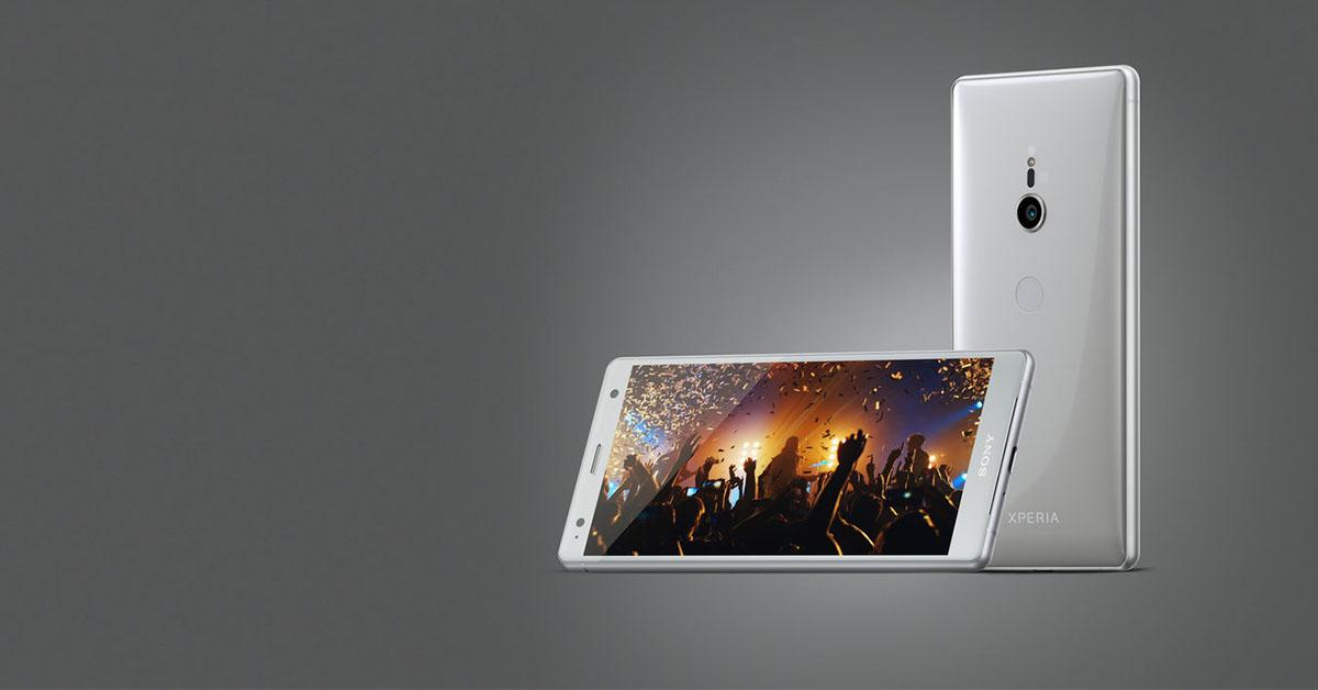 MWC 2018:Sony xperia XZ2