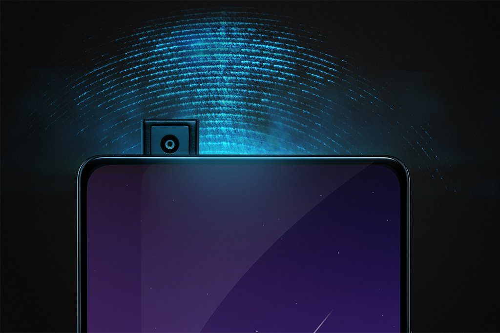 Vivo Apex elevating pop up front facing camera