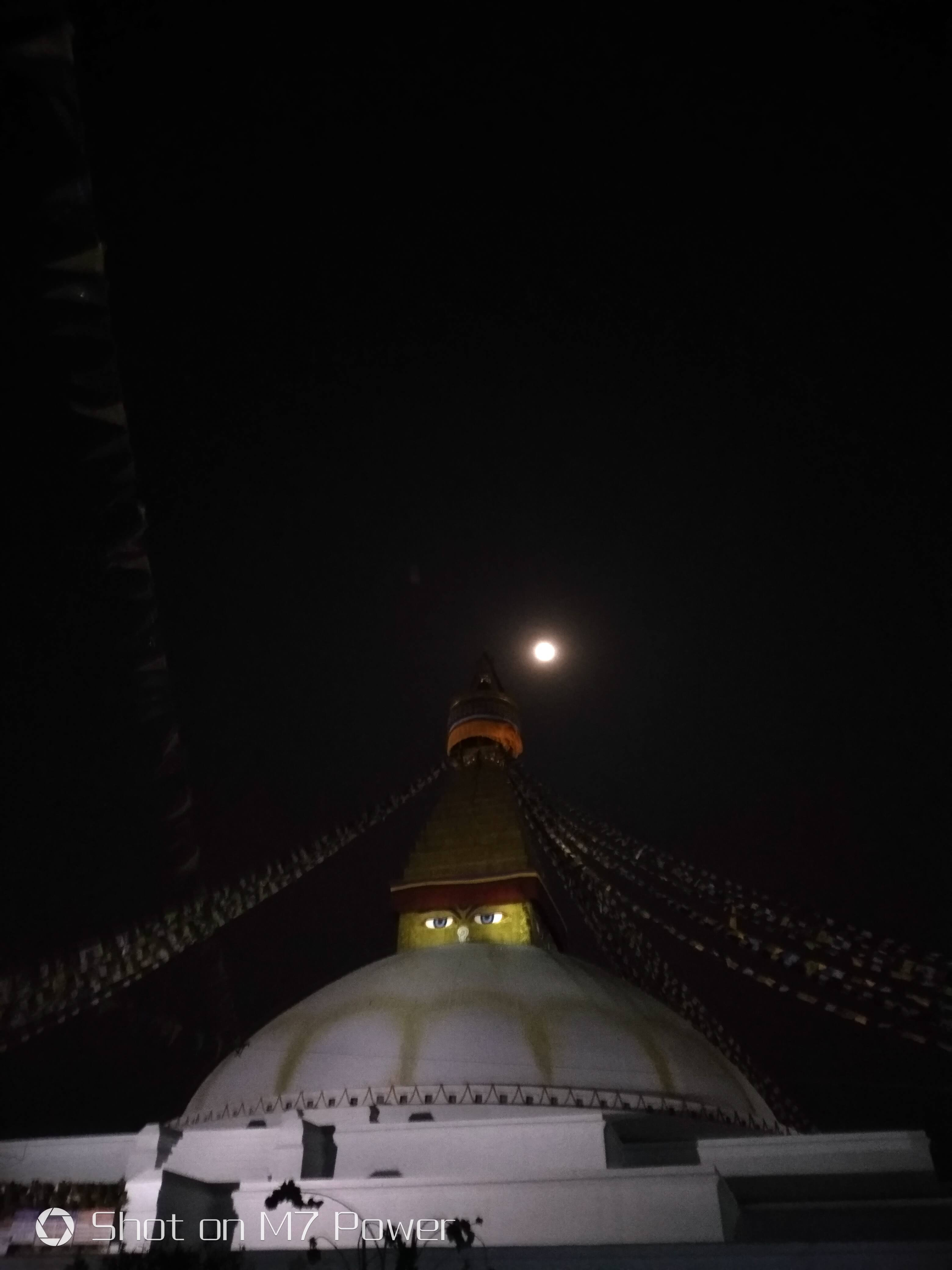 gionee m7 power review night time picture