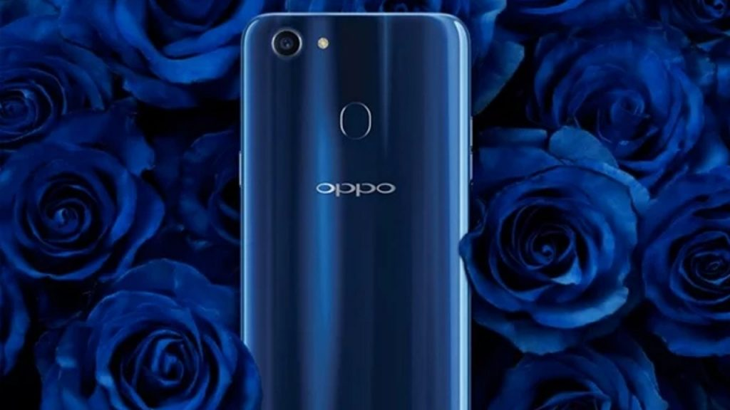 Oppo F5 Dashing Blue in Nepal