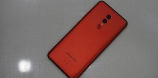 umidigi s2 pro back red