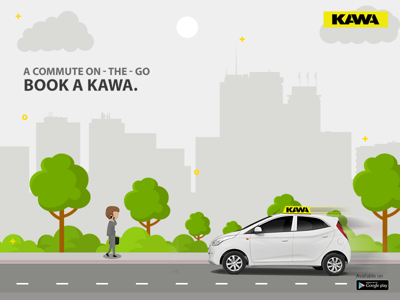 Kawa Rides - Book a Cab