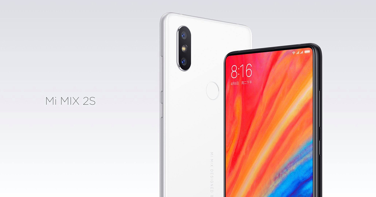 528112eb80 Xiaomi MI Mix 2S launched with dual cameras  Price