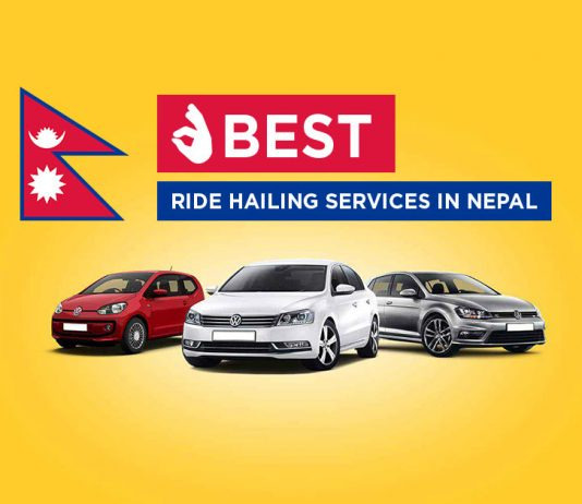 Ride hailing apps in Nepal
