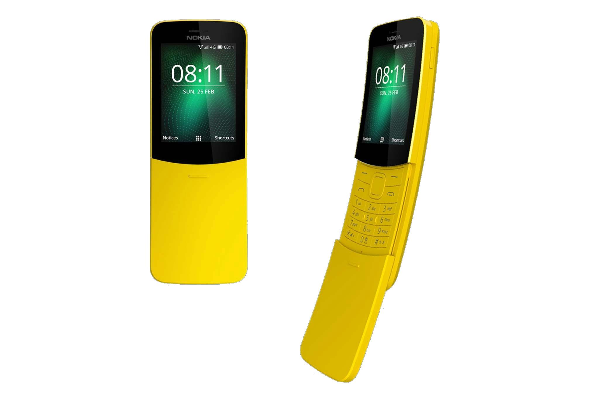 MWC 2018: Nokia 8110 4G