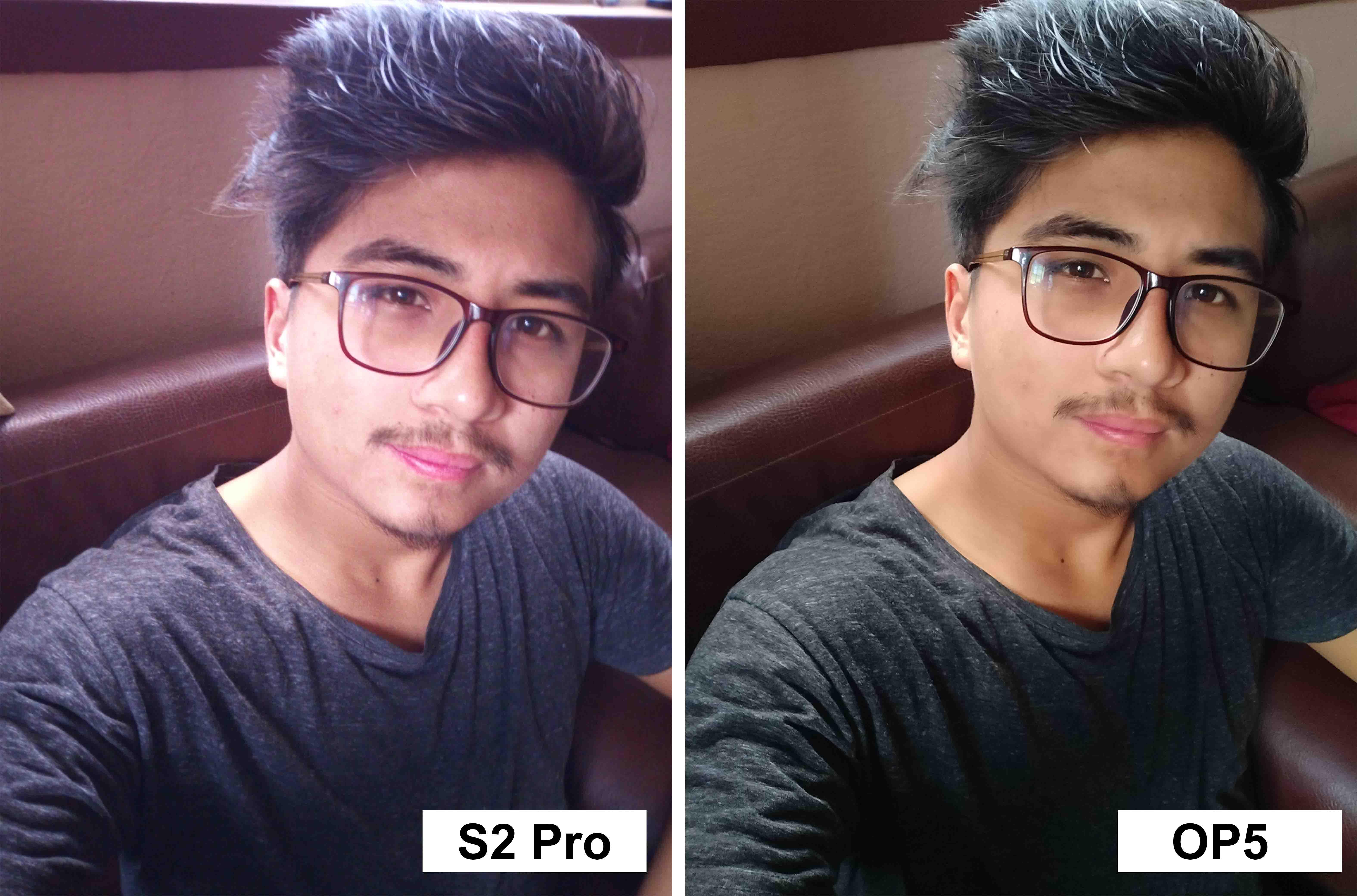 Front Selfie Umidigi s2 pro