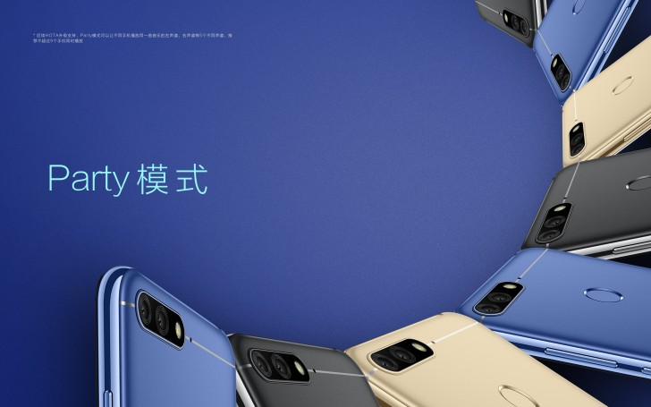 Huawei Honor 7A Audio Camera Colors