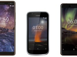 Nokia 6 2018 | Nokia 7 Plus | Nokia 1